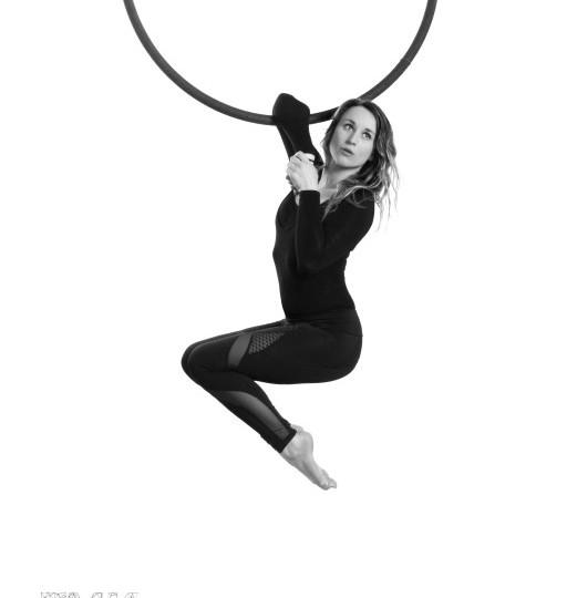 Aerial hoop lyra lessen